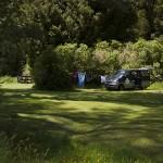 Le camping d'Otaki Forks