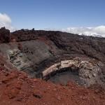 L'intérieur du volcan