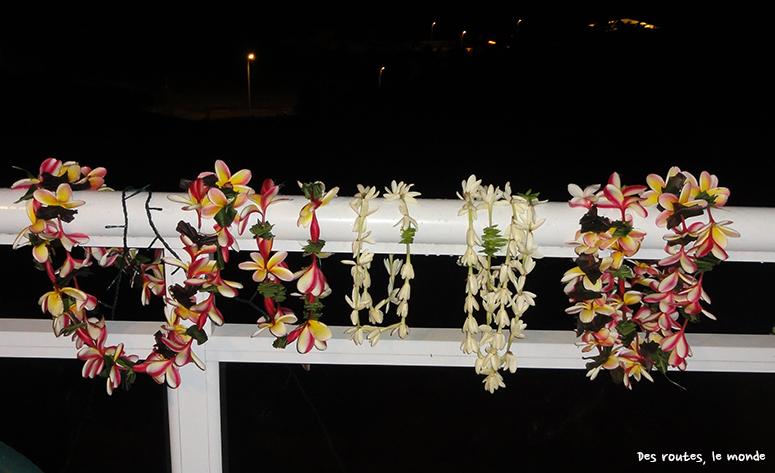 nos colliers de fleurs
