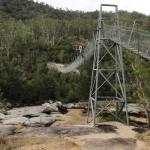 Le pont suspendu…