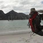 La plage de Wineglass Bay