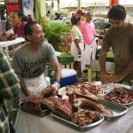 Le poe (porc) rôti