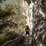 Les escaliers géants près des…