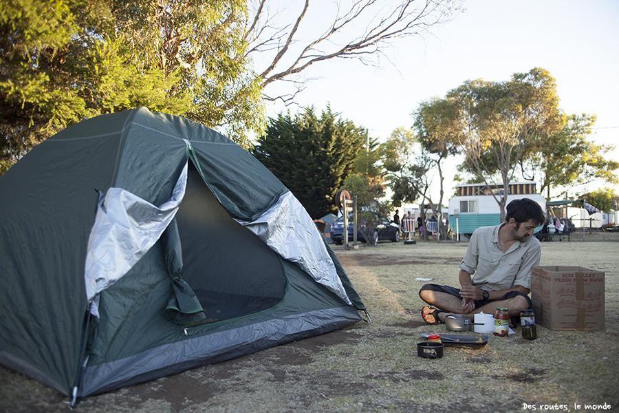 Le camping de Swansea