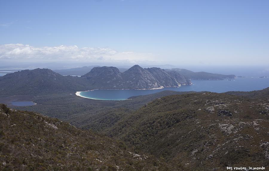 Wineglass Bay (la baie du verre de vin…)