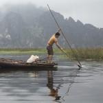 Pêcheur à Van Long