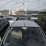 Le ferry pour Bruny Island