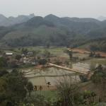 Vallée proche de Green Vietnam