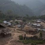 Arrivée dans un village Akha