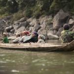 Famille de pêcheurs