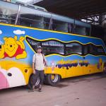 Notre bus Winnie l'ourson