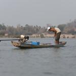 Pêcheurs sur le fleuve