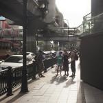 Rue de la capitale Thaï