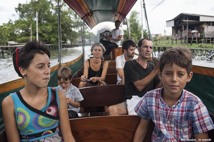 Retrouvailles en bateau