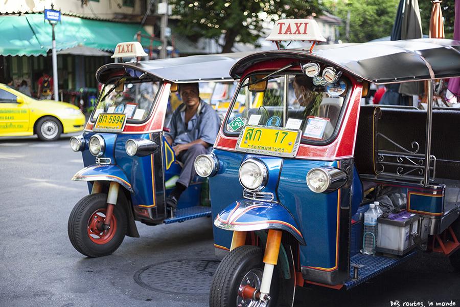 Tuk tuk de Bangkok