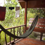 Notre terrasse à Koh Tao