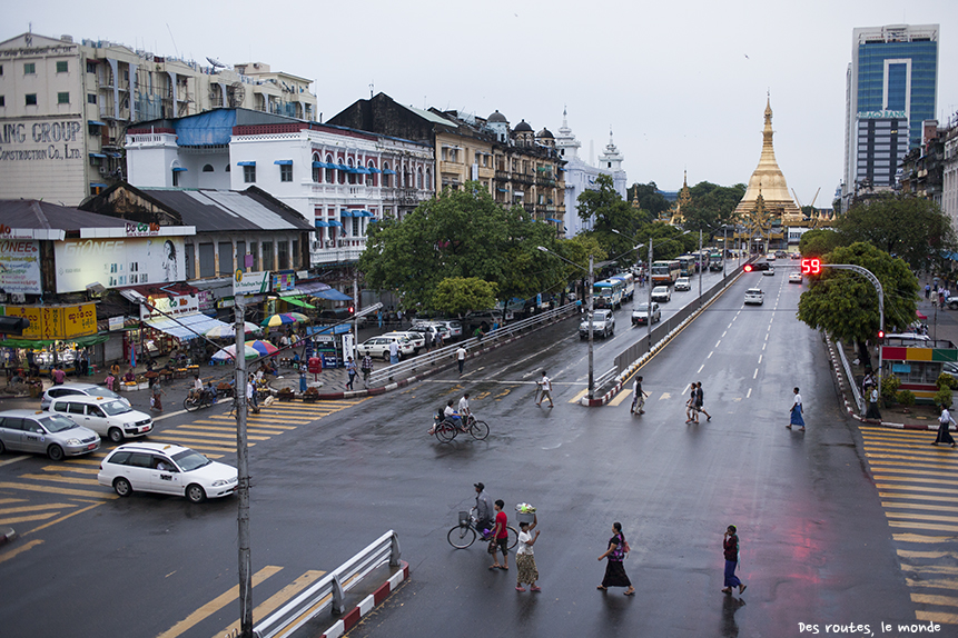 Point de vue sur Yangon