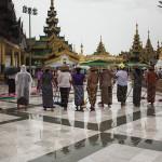 Les nettoyeuses de la pagode