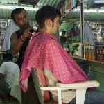 Chez le barbier coiffeur