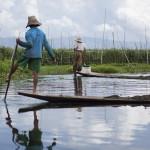 Des pêcheurs