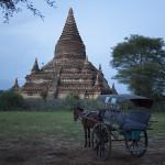 Près du temple Buledi