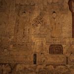 Fresque intérieure de Sulamani Pahto