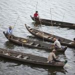 Un groupe de pêcheurs