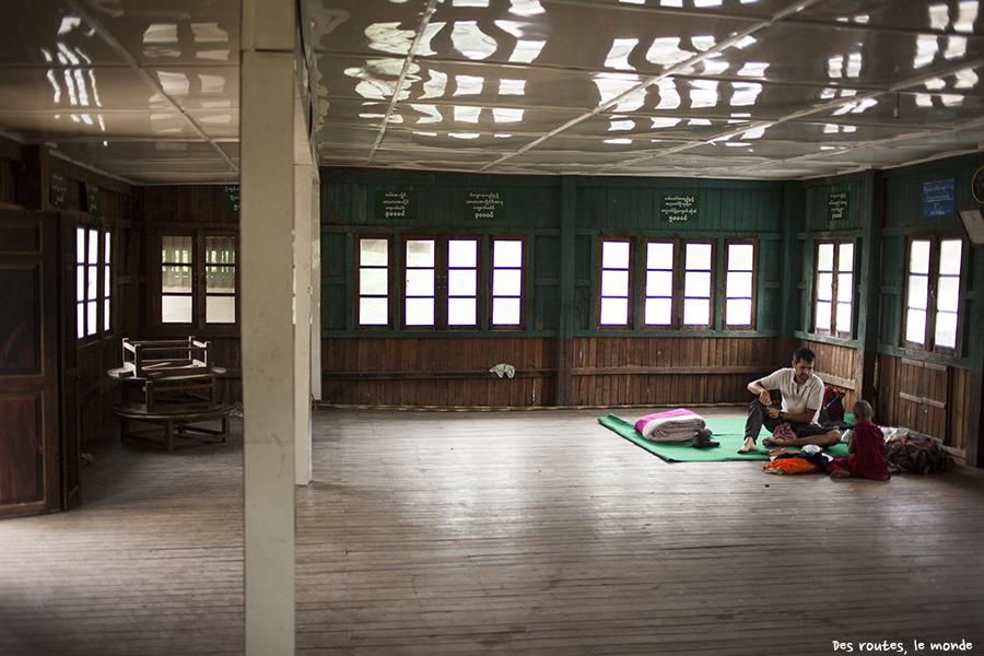 Notre chambre dans un monastère