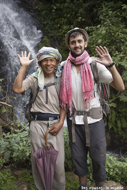 Kélig et Sandy, notre pimpant guide de 63 ans