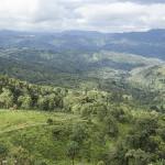Vue sur une vallée Shan