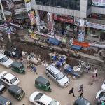 Travaux publics dans Dacca