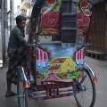 Magnifique rickshaw