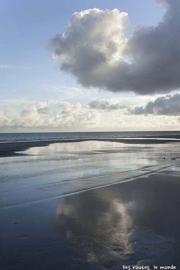 La plage, la mer, le ciel