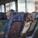 Il pleut dans le bus