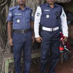 La police de Jessore