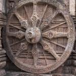 Une roue cadran solaire