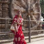 Un joli sari rouge