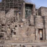 Temple en restauration