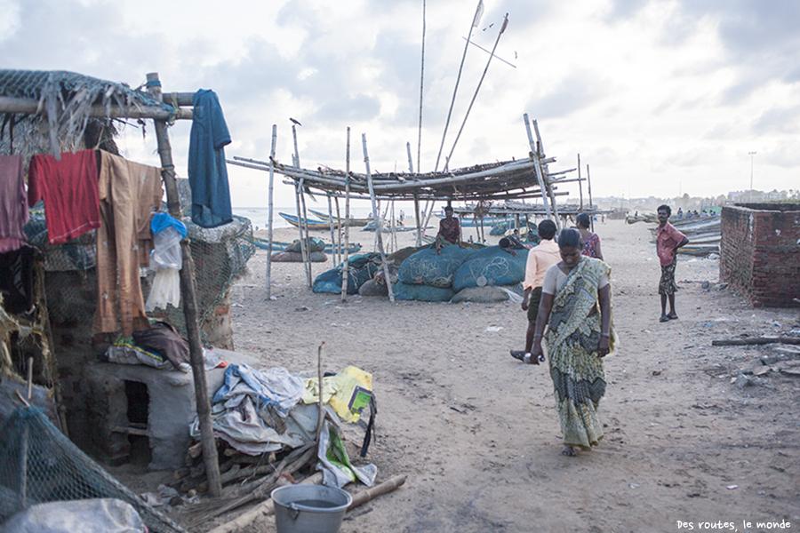 Pas loin du village de pêcheurs