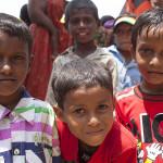 Enfants de Bodhgaya
