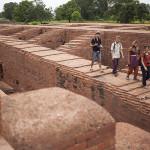 Archéologie de groupe à Nalanda