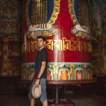 Rouleaux de prières tibétains