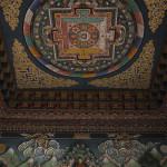 Plafond du temple bouthanais