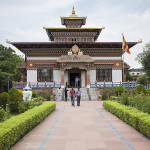 Temple bouddhiste à Bodhgaya