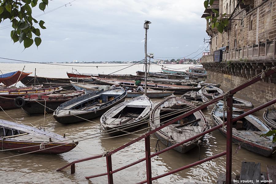 Le Gange en crue