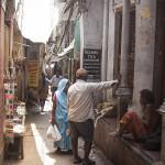 Les rues de Varanasi