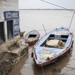 Bateaux sur le Gange
