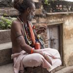 Sadhu en méditation