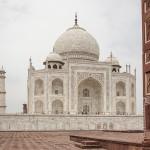 Le Taj vu de la mosquée
