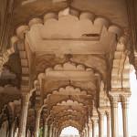 Voûte au fort d'Agra
